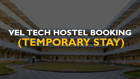 Vel Tech Hostel Booking - Temporary Stay
