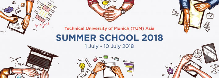 Summer School at Technical University of Munich - Asia (TUM-Asia)