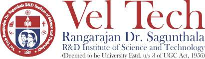 Vel Tech Rangarajan Dr.Sagunthala R&D Institute of Science and Technology Retina Logo