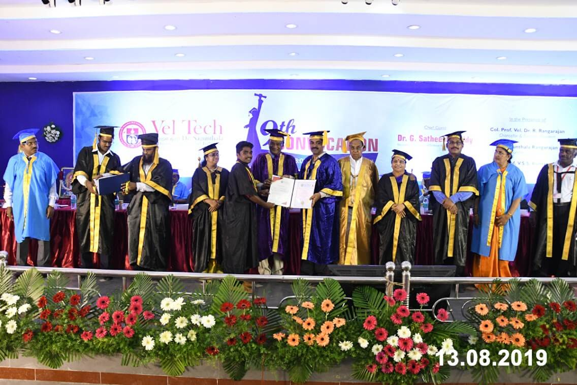 Convocation , Best University In India - Vel Tech