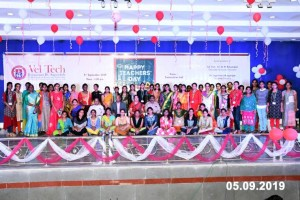 Vel Tech Teachers day 2019